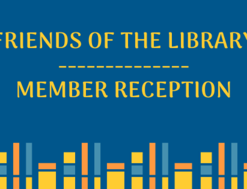 Friends of the Library Member Reception