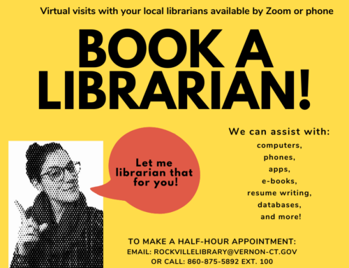BOOK A LIBRARIAN GOES VIRTUAL