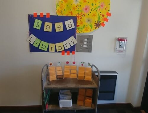 SEED LENDING LIBRARY IS NOW OPEN!